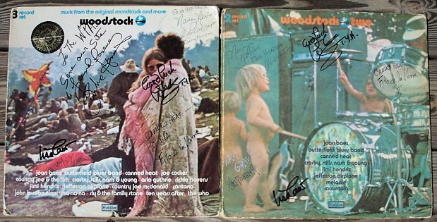 The Woodstock Albums - Autographed