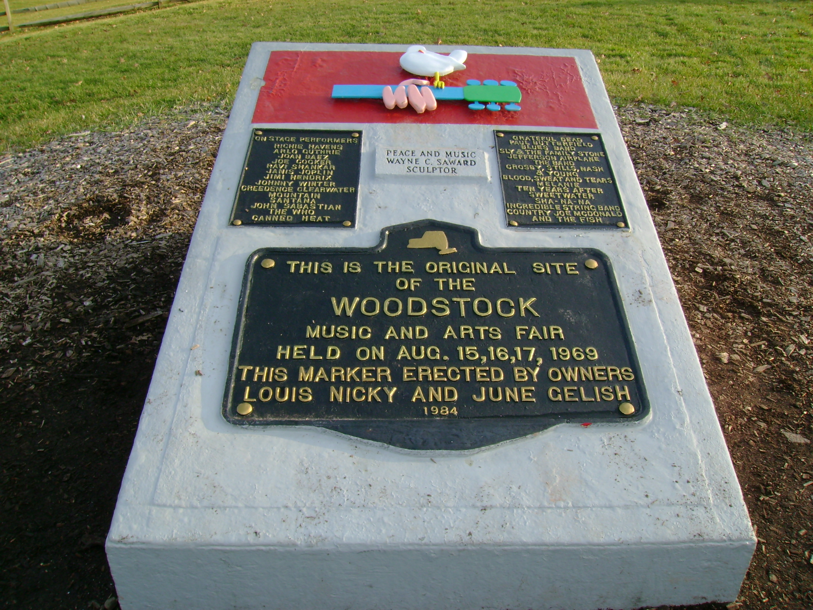 The Woodstock Monument
