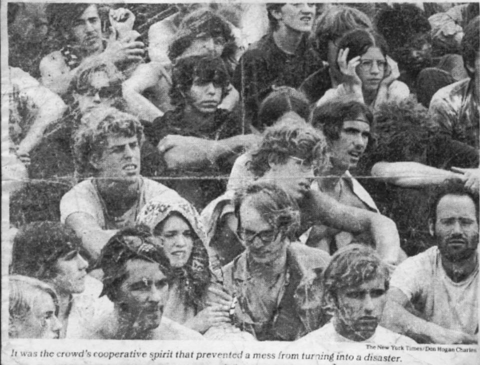 The Crowd - NY Times August 1969