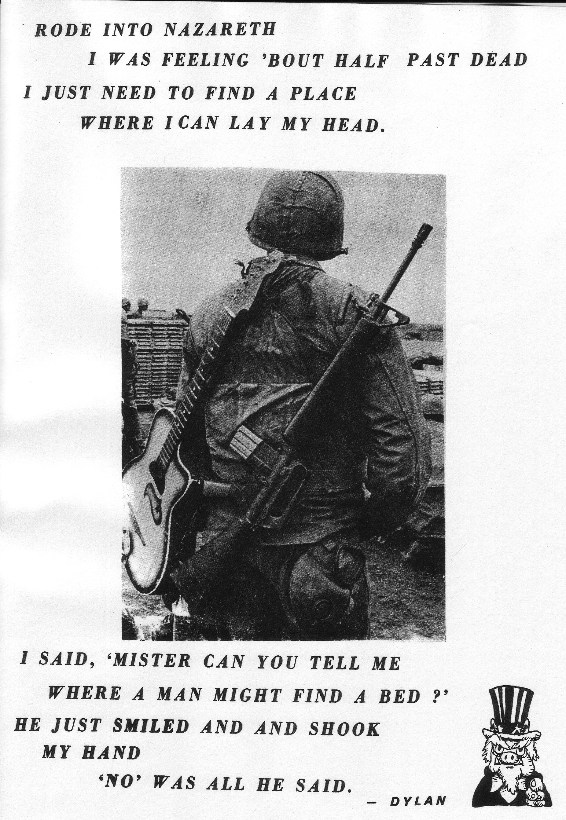 Anti-War Flyer - 1969