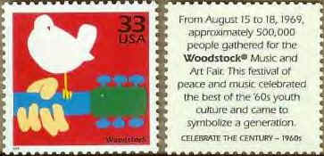 "The ""Woodstock"" Postage Stamp"