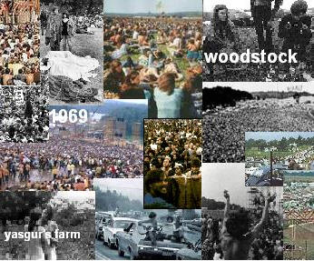 Woodstock Picture Collage